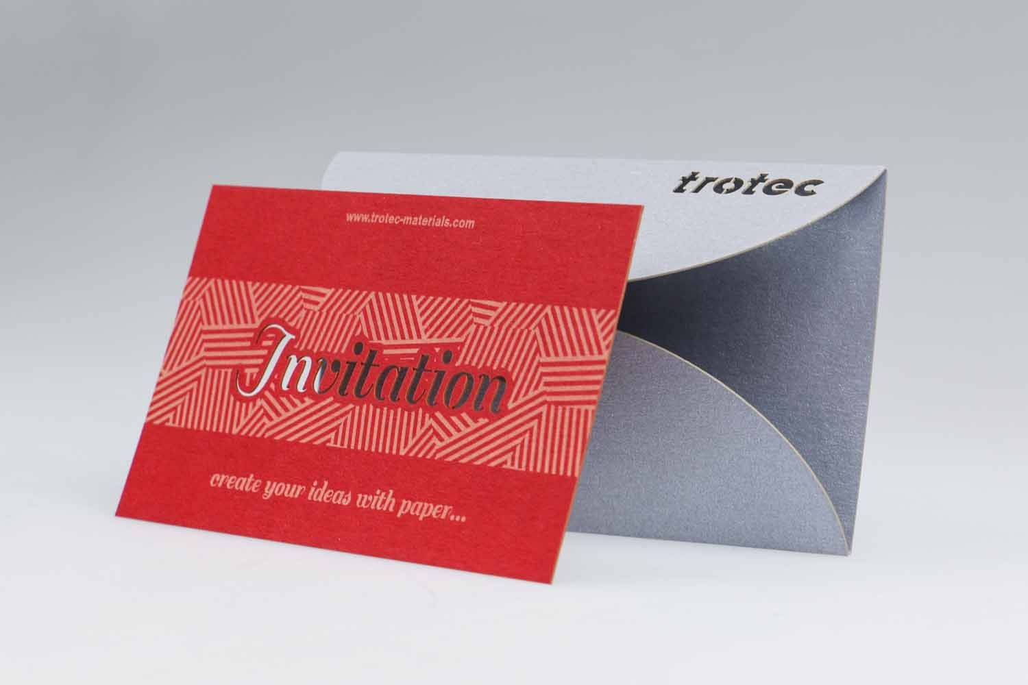 laser paper combines printing, engraving and cutting