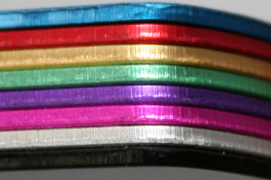 Médailles aluminium anodisé