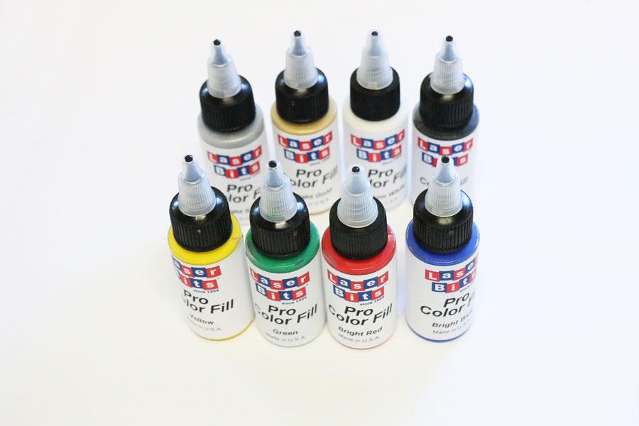 Acrylfarben und Oxidationsmittel