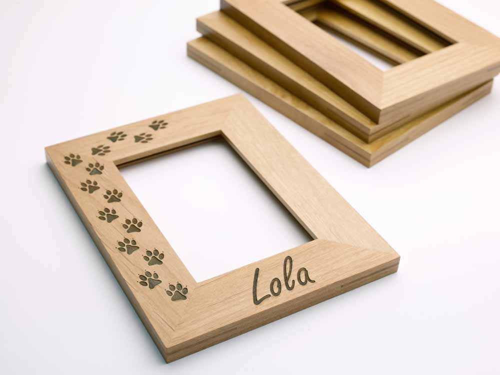 create a personalized gift with our photo frames and your laser machine