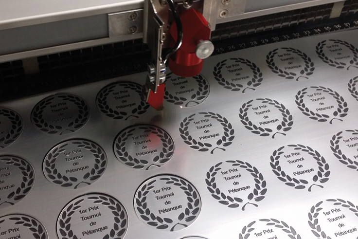 thin laser engraving material
