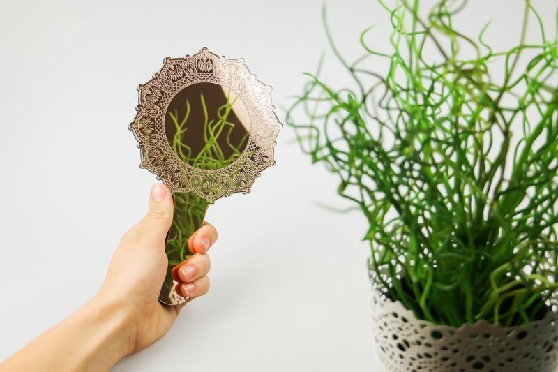 specchio acrilico per incisione laser