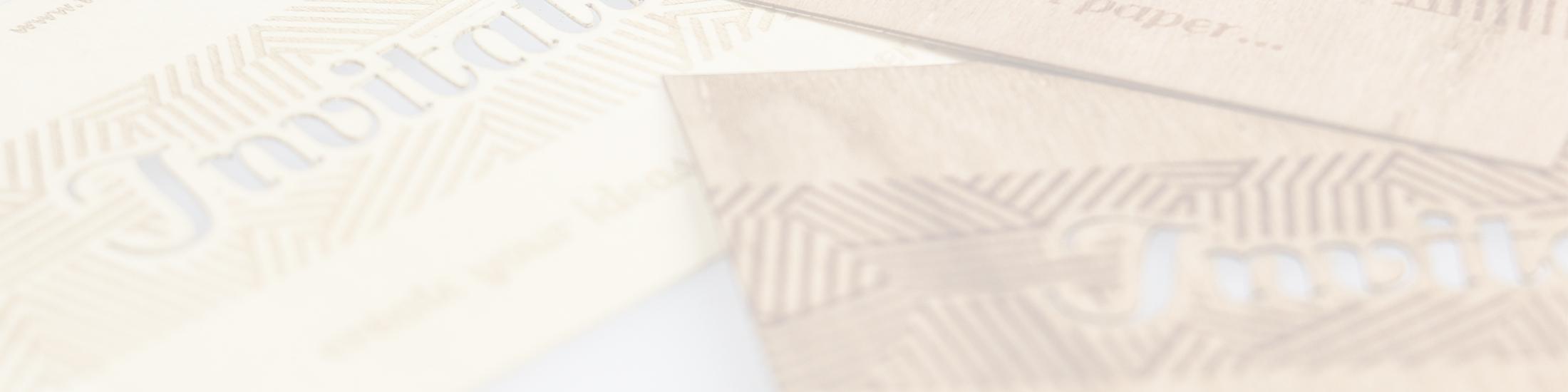 laserpapier gemaakt van echt hout