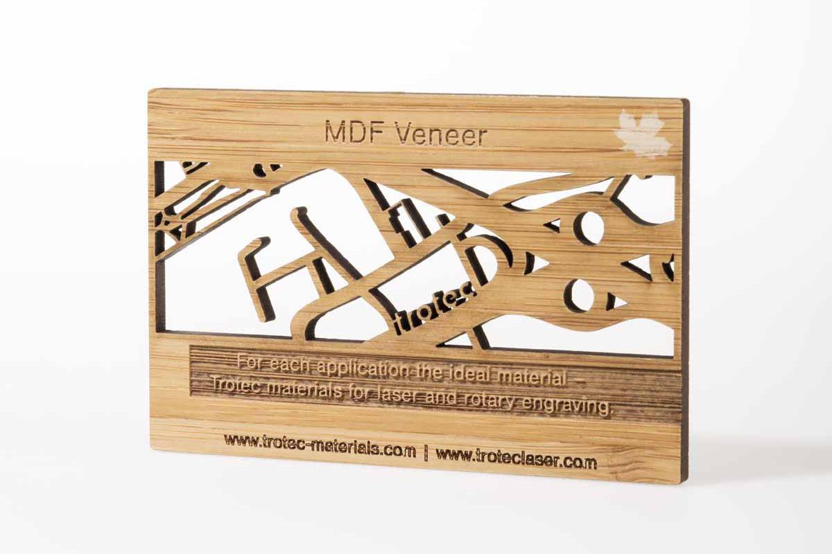 Pannelli Legno Senza Formaldeide cornice in legno realizzata con impiallacciato trotec