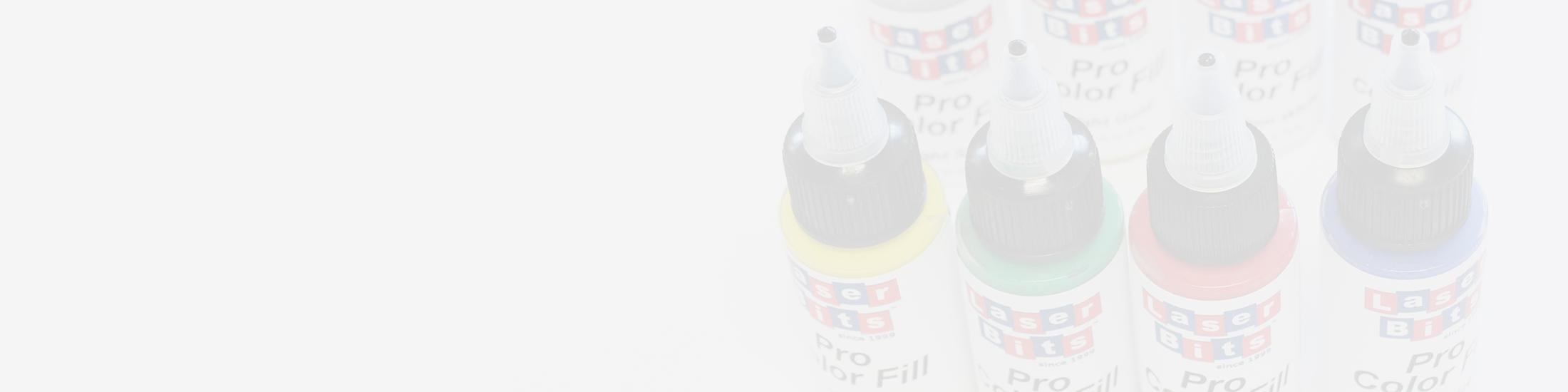 Acrylfarben Gravur einfärben