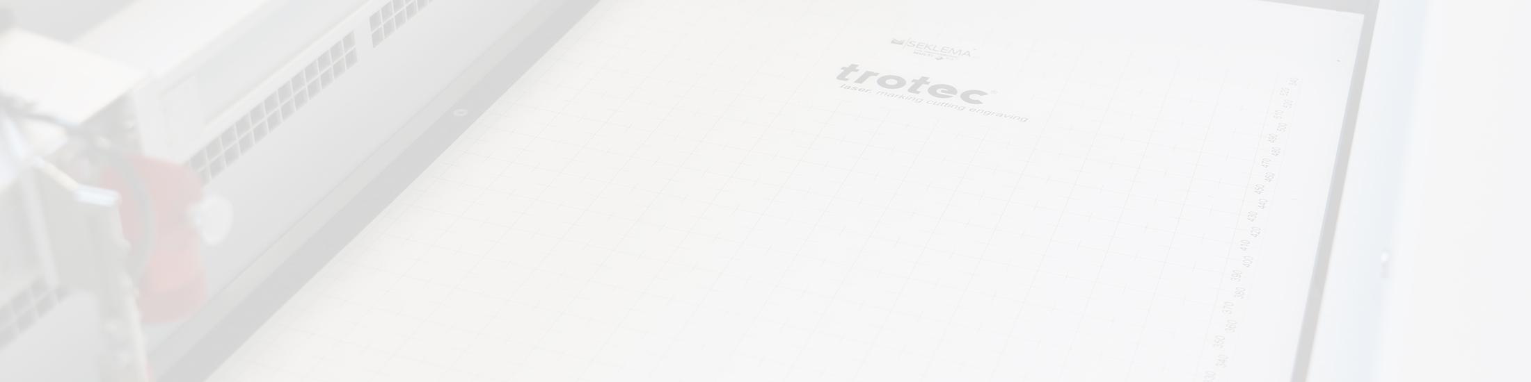 onze seklema- of trotec-werkfixatiemat fixeert uw werkstuk in uw laserapparaat