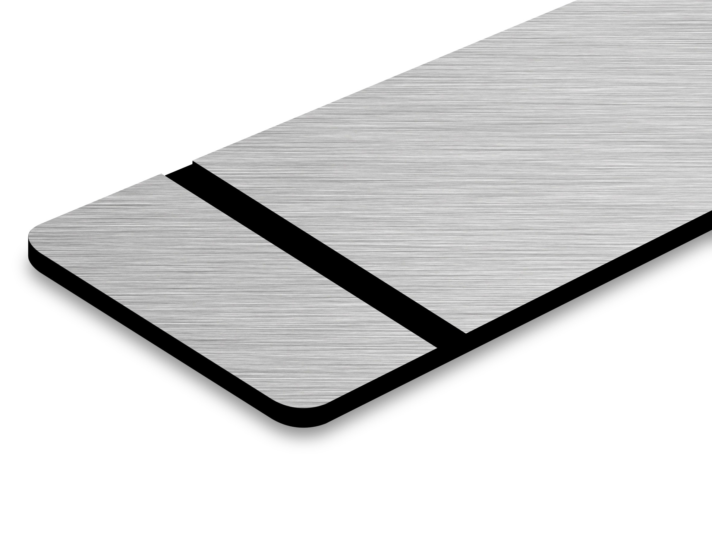 PMT+354-203 Aluminium geb./schwarz 0,8mm
