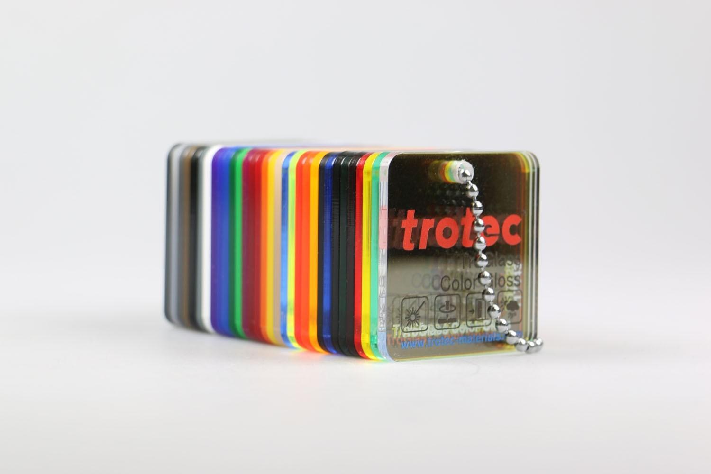 Musterfächer TroGlass Color Gloss