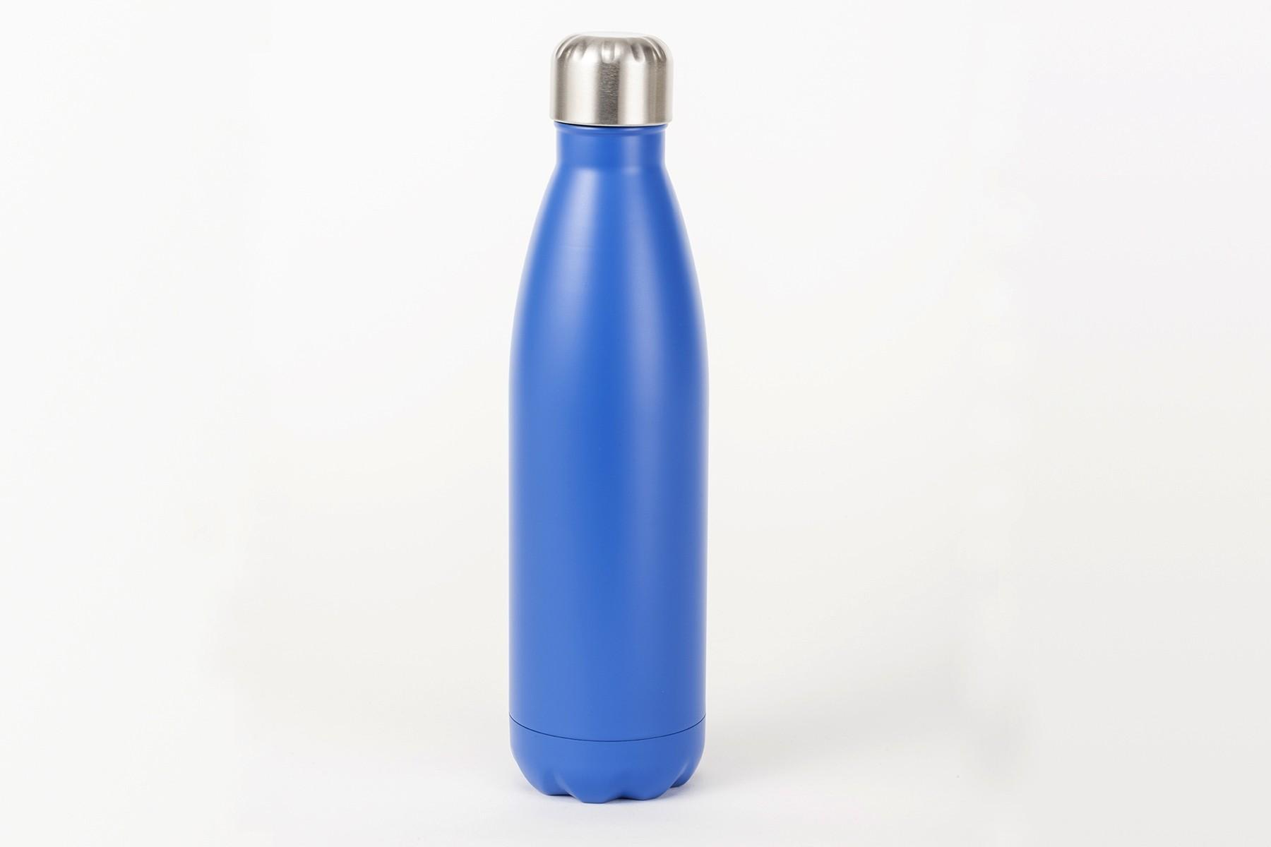 Isolierte Trinkflasche blau, 500ml
