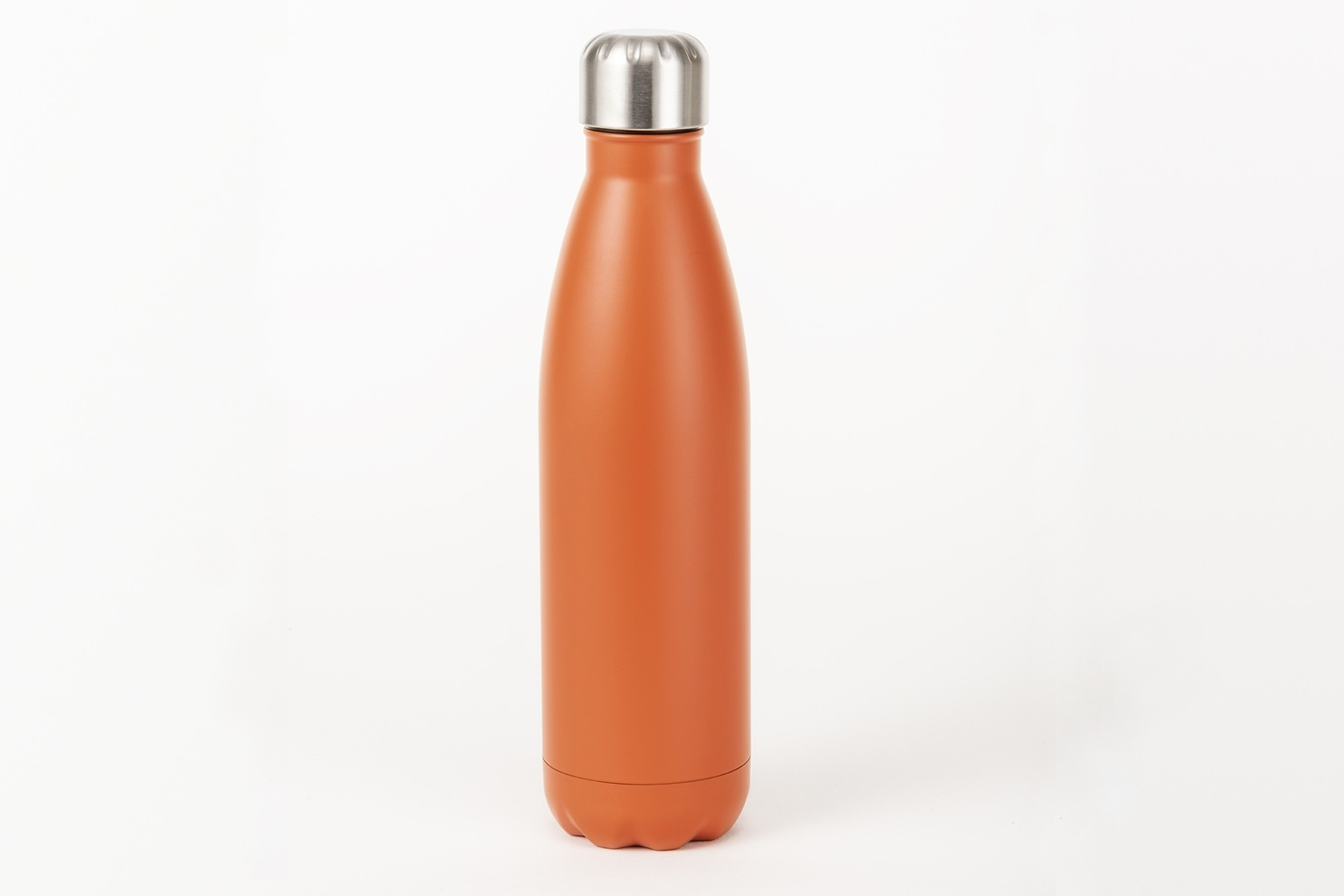 Isolierte Trinkflasche orange, 500ml