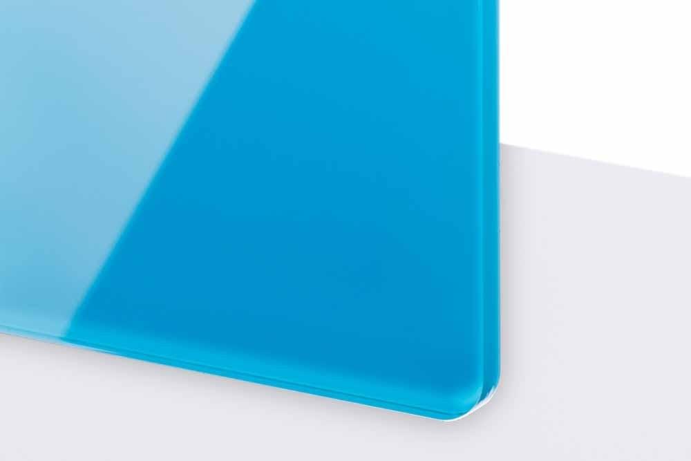 TroGlass Reverse 3mm glänzend/hellblau