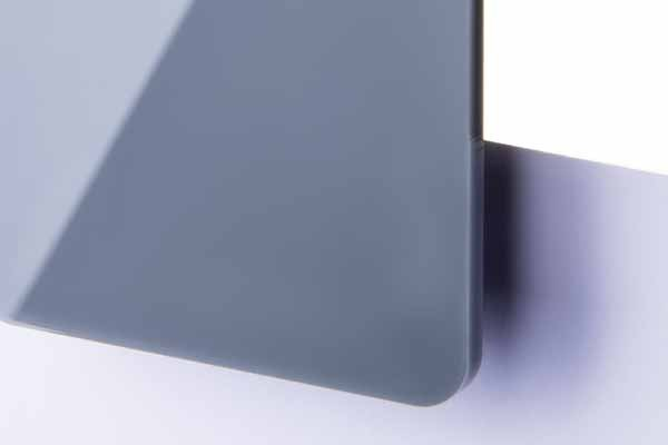 TroGlass Color Gloss Grau lichtd. 3mm