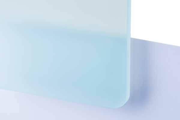 TroGlass Satins Aquamarin lichtdurchlässig 3mm