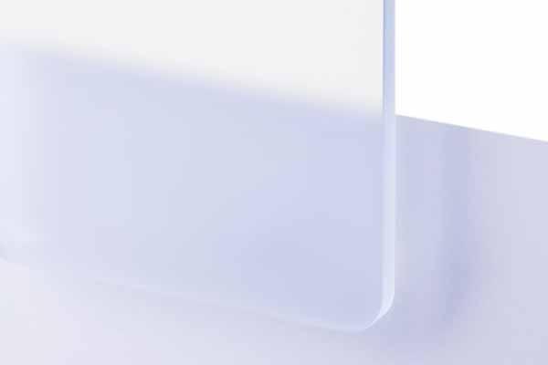 TroGlass Satins Eisblau lichtdurchlässig 5mm