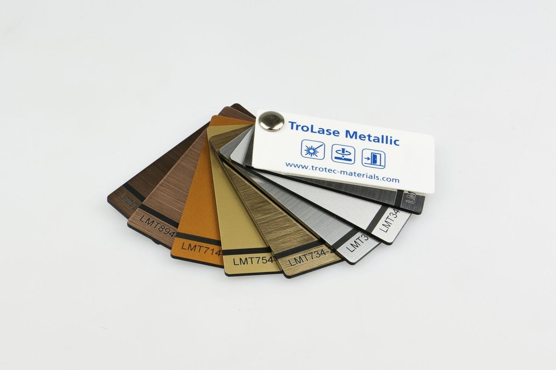 Musterfächer TroLase Metallic