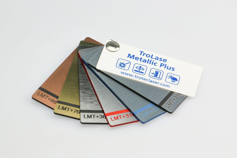 Musterfächer TroLase Metallic Plus