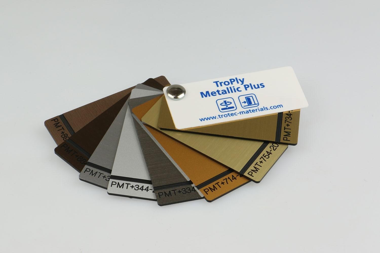 Musterfächer TroPly Metallic Plus