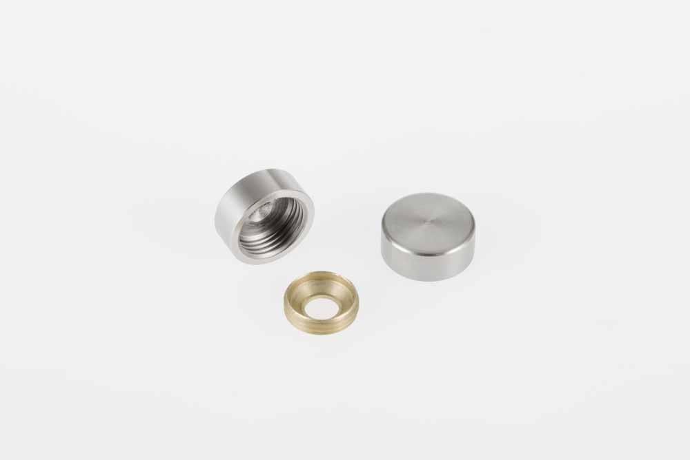Screw cap 15mm/3.5mm screw 20pc