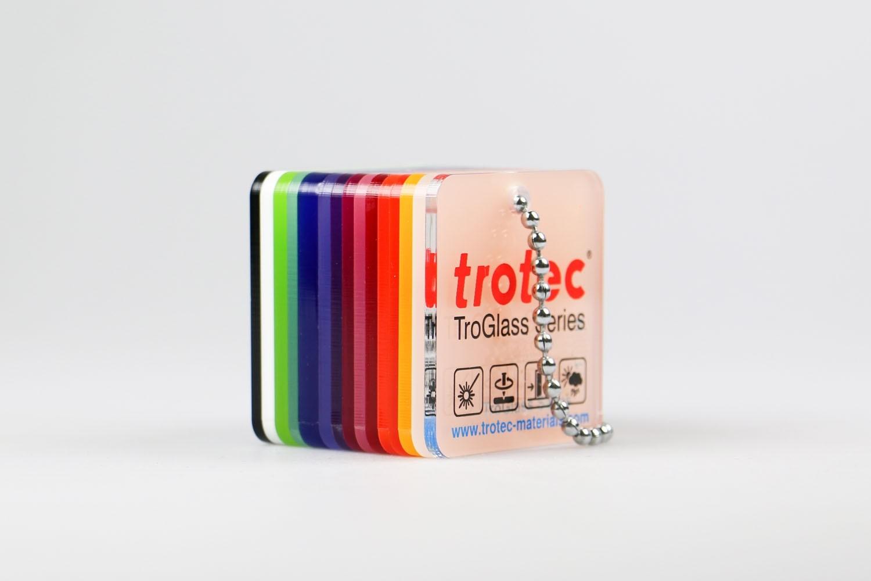 Color Fan TroGlass Satins