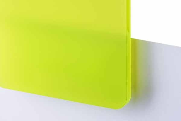 TroGlass Satins Limon green translucent