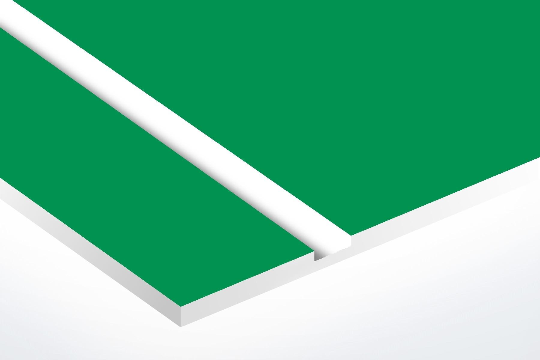 "Bright Green/White 1/16"""