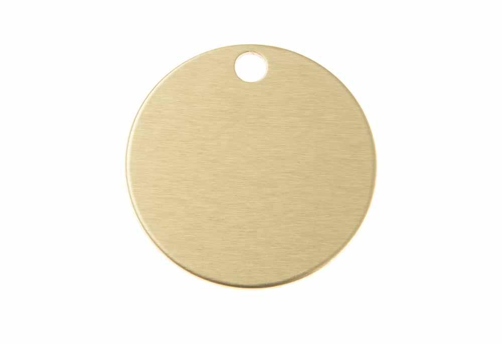 Circle - Gold - Large 1.25'' x 1.25''