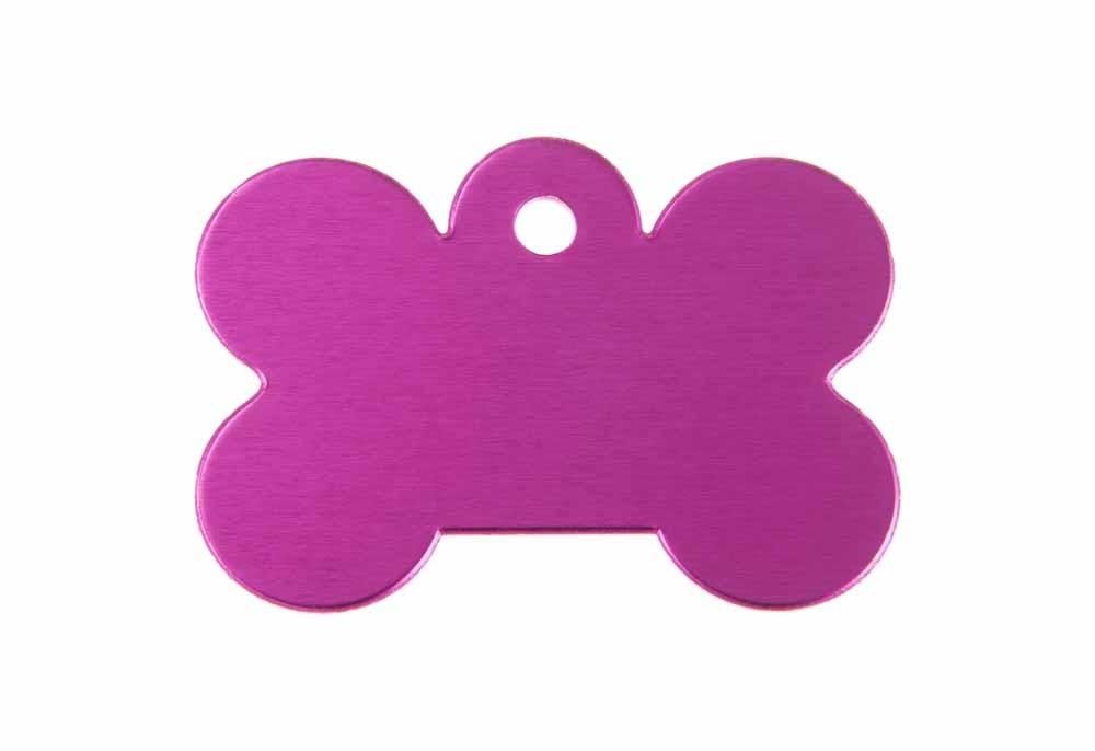 Bone - Pink - Large 1.5'' x 1.3''