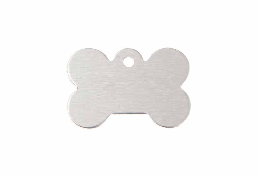 Bone - Silver - Small 0.83'' x 1.2''