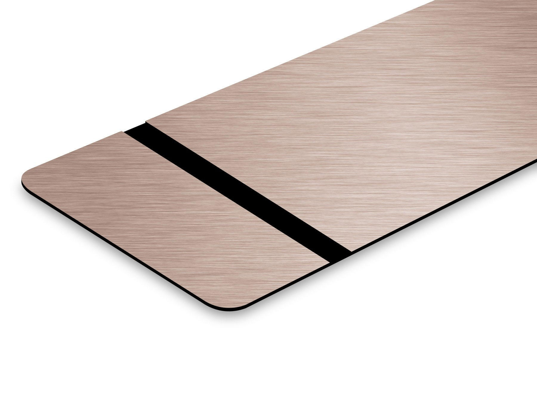 """Brushed Copper/Black 0.004"""""""