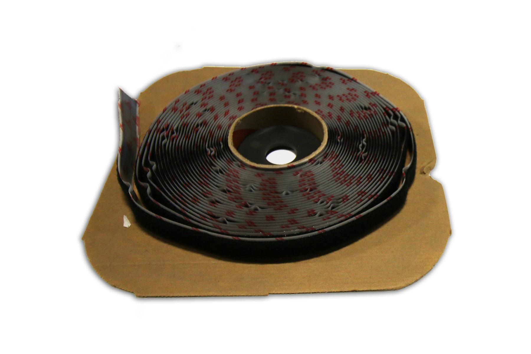 Velcro Loop Black 3/4 in x 25 yds
