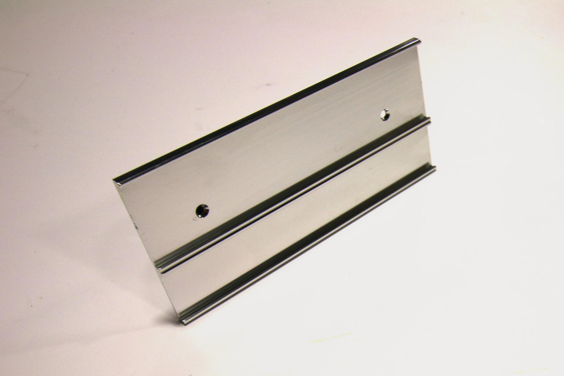 1-1/2 & 1 x 8 Multi-Wall Holder Silver