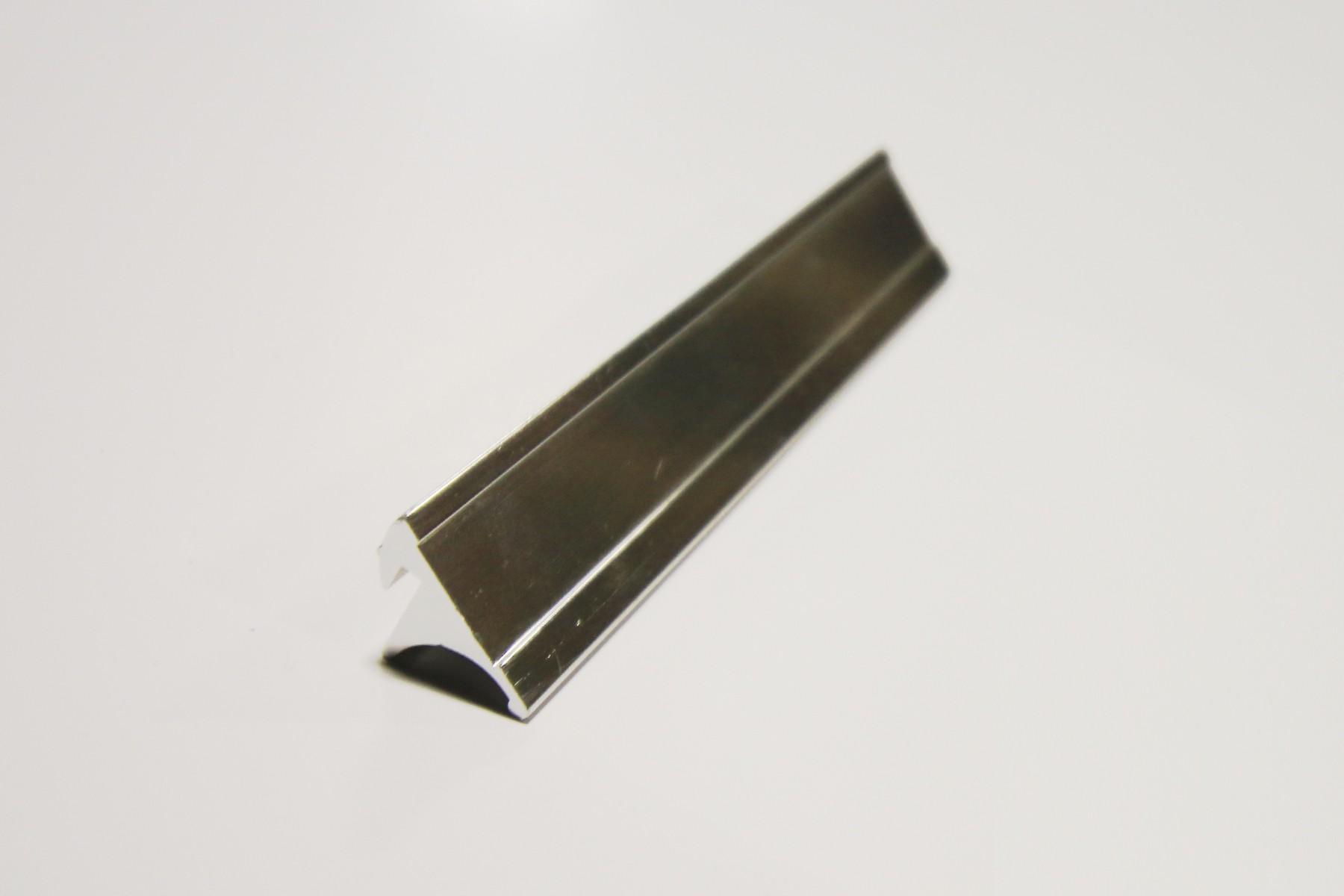 3/4 x 10 Desk Base, Silver
