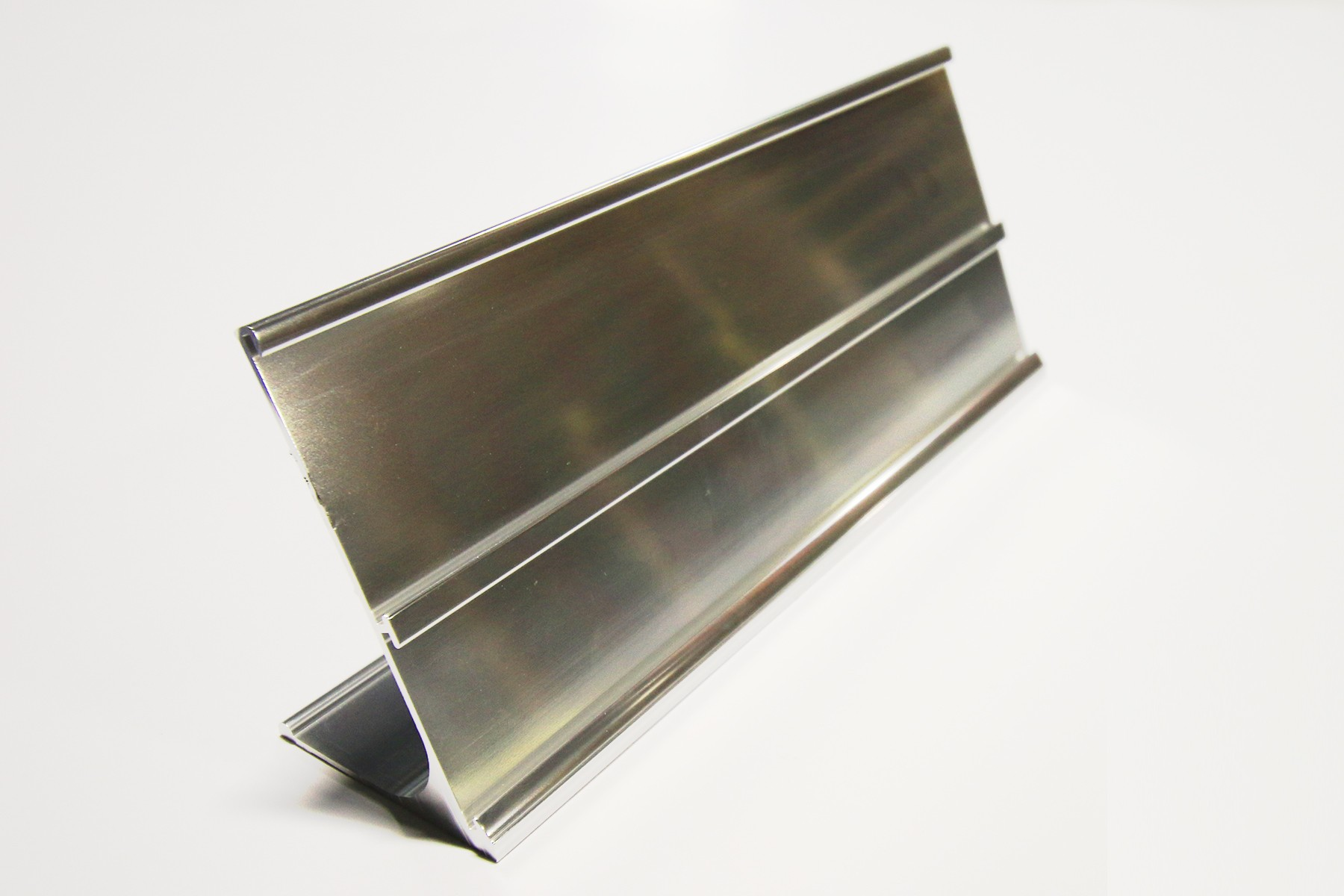 "2"" & 1 1/2"" x 9"" Multi-Desk Holder, Bright Silver"