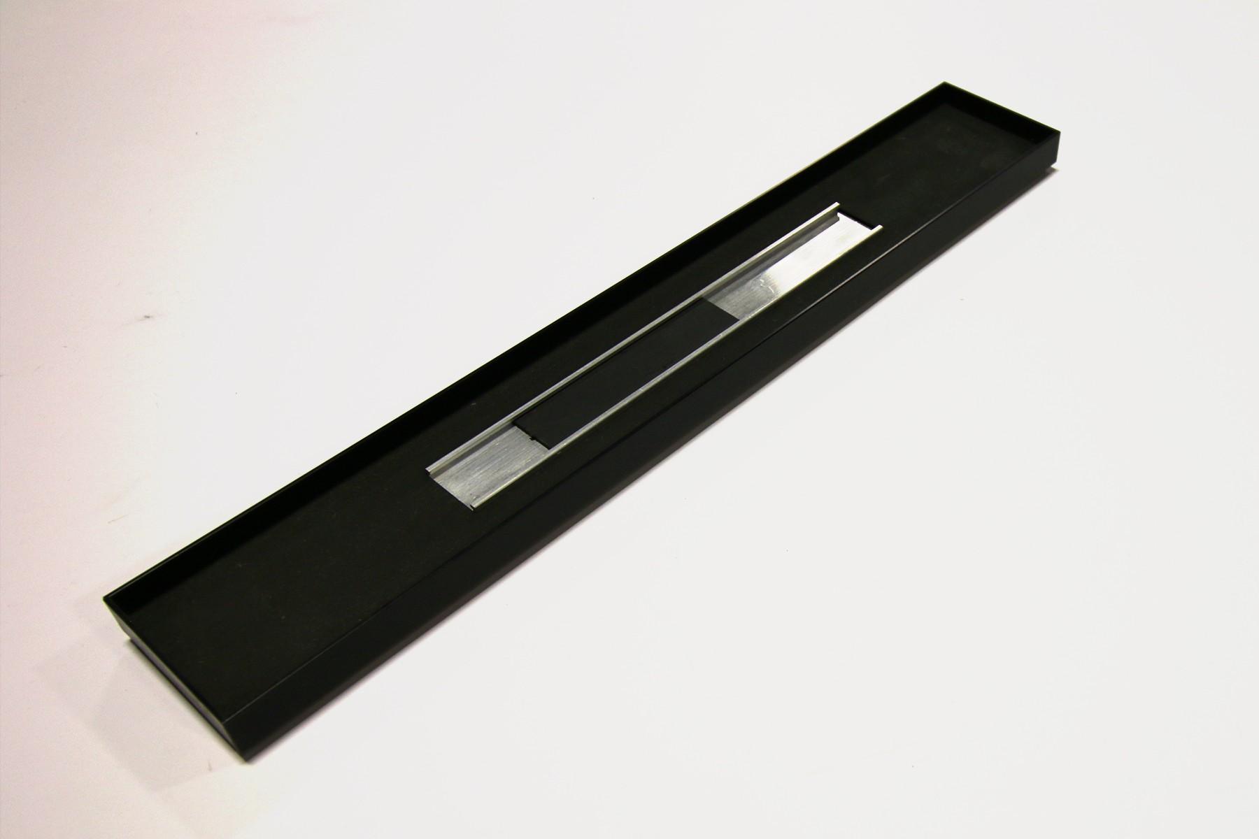 2x13 Sq Slider Frame, Black