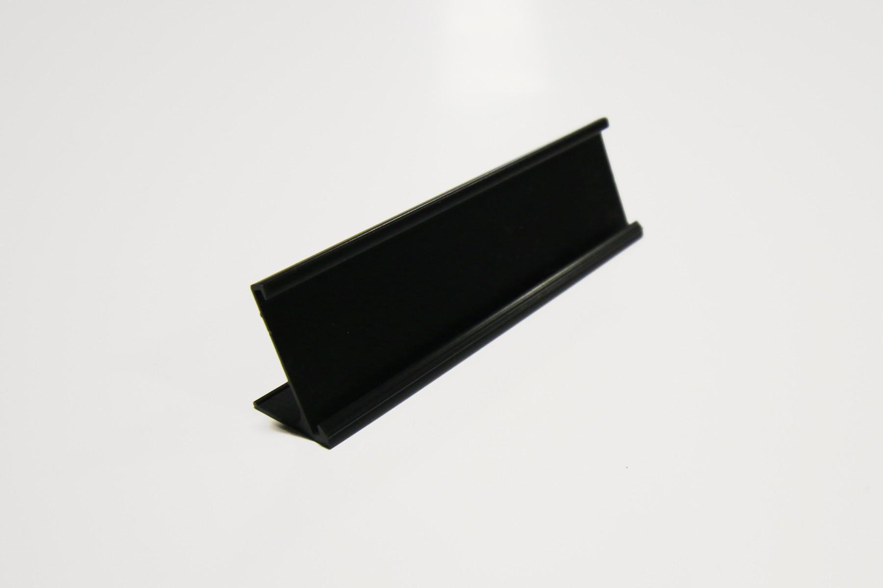 1 x 8 Desk Holder, Black