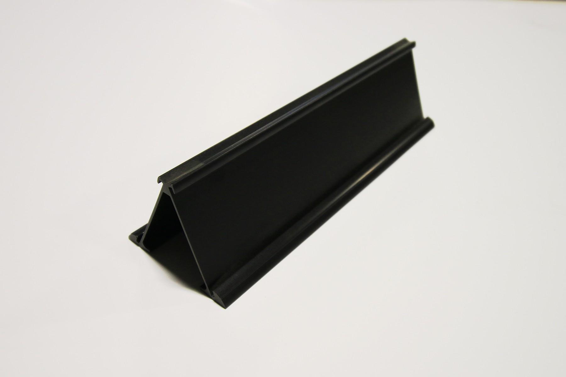 2 x 10 2-Sided Desk Holder, Black