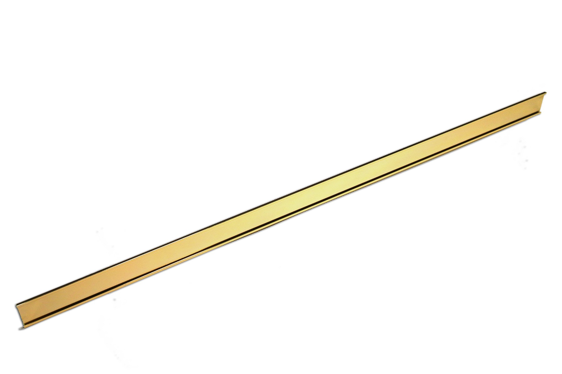 1-1/4 x 36 Wall Holder, Gold