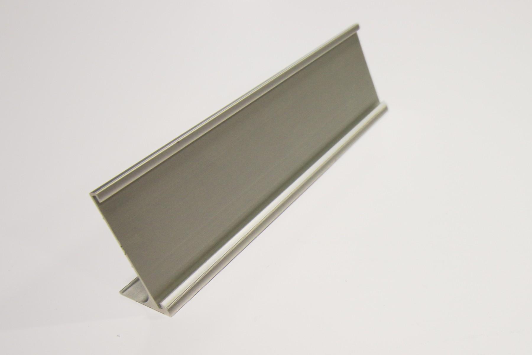 2 x 8 Desk Holders Satin Silver