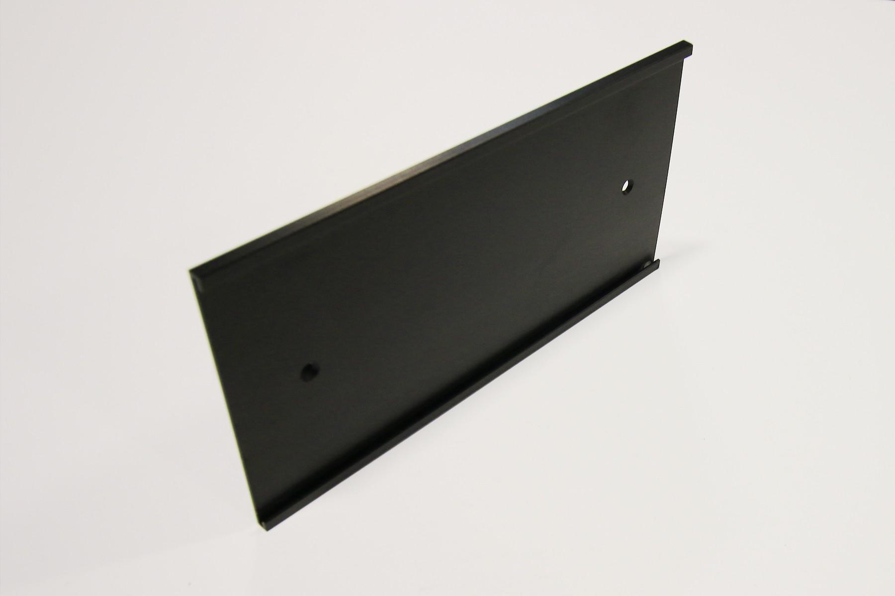 4 x 8 Wall Holder, Black