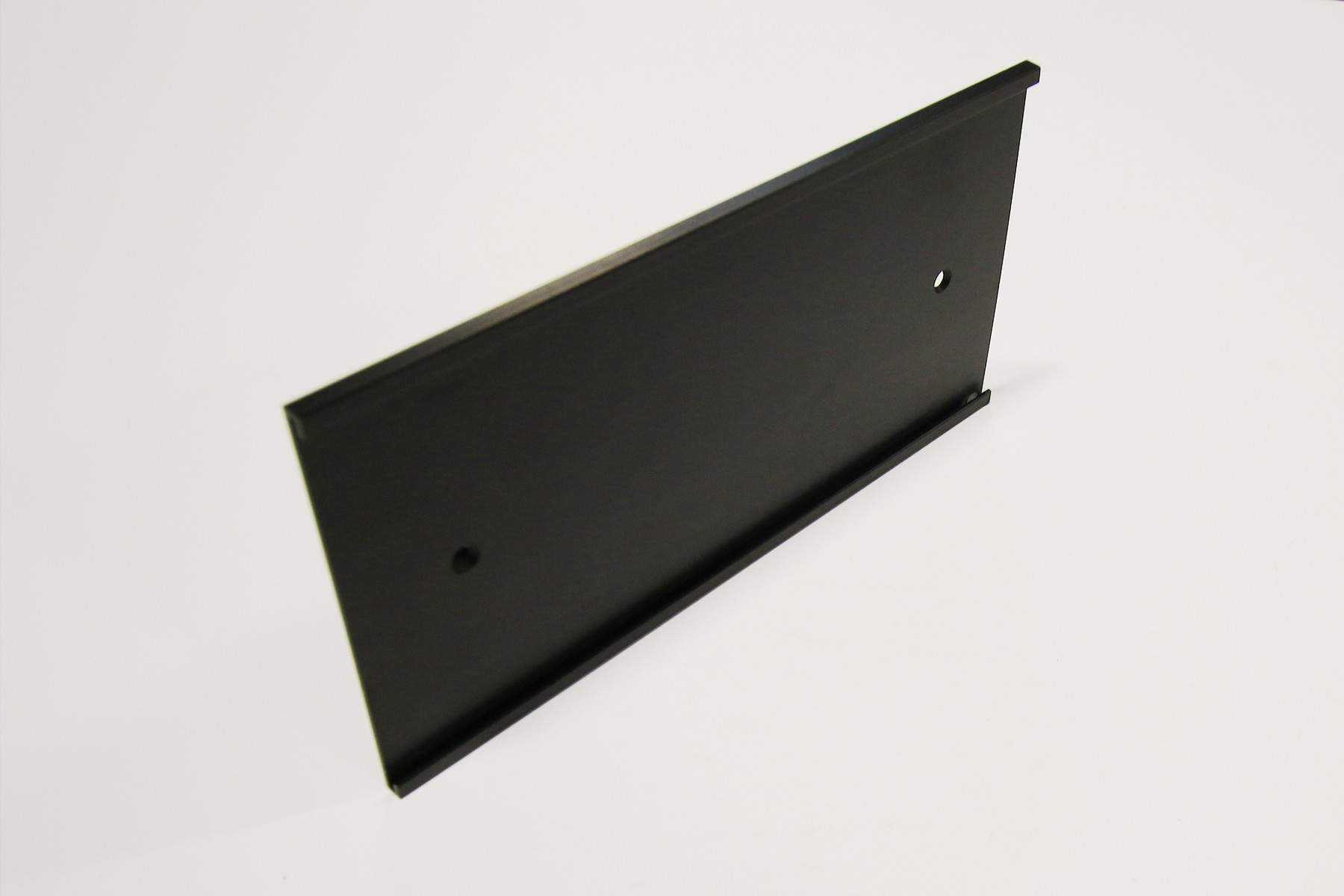 "4"" x 1/16"" x 12"" Wall Bracket, Black"