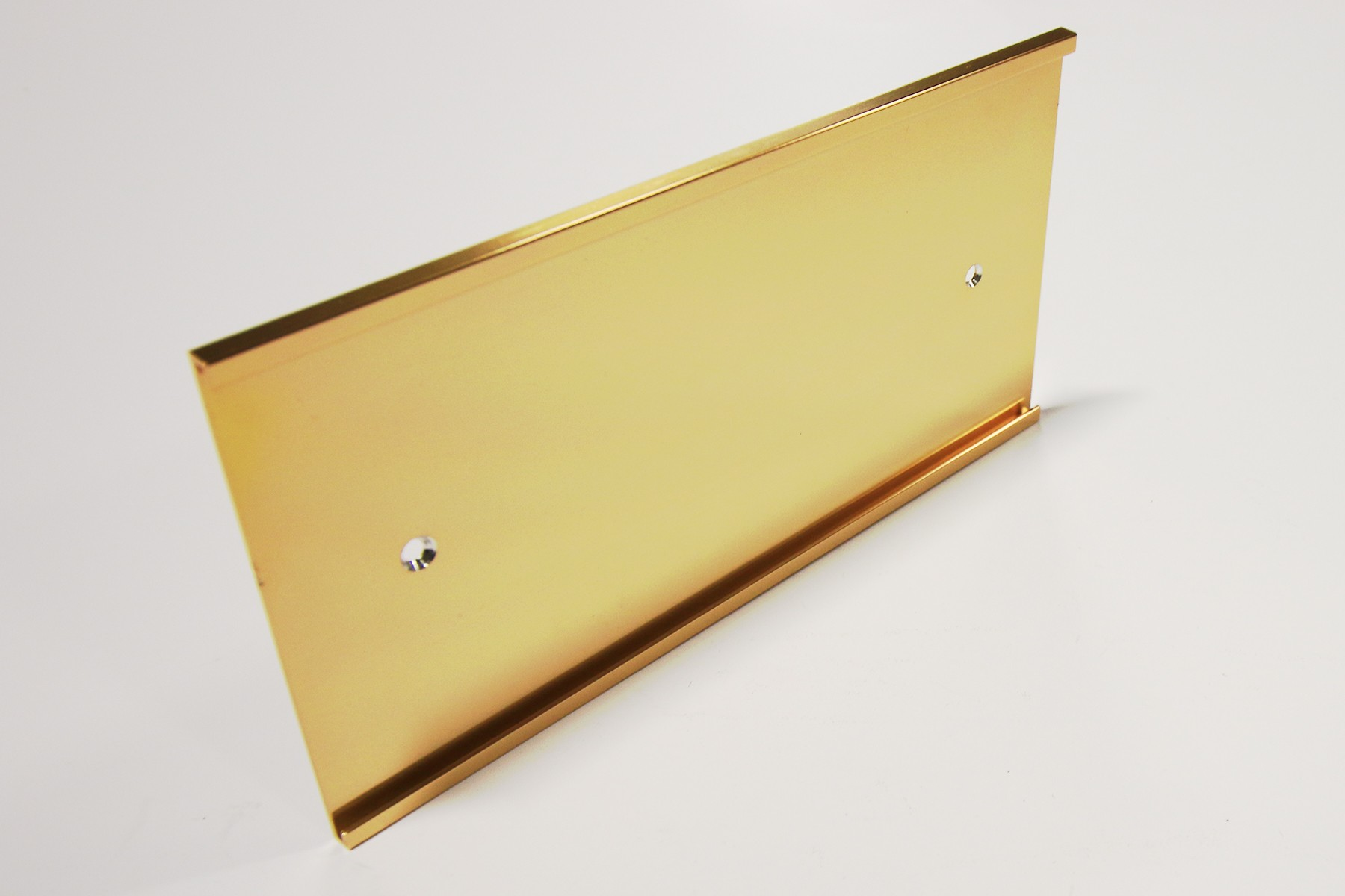 "4"" x 1/16"" x 8"" Wall Bracket, Gold"