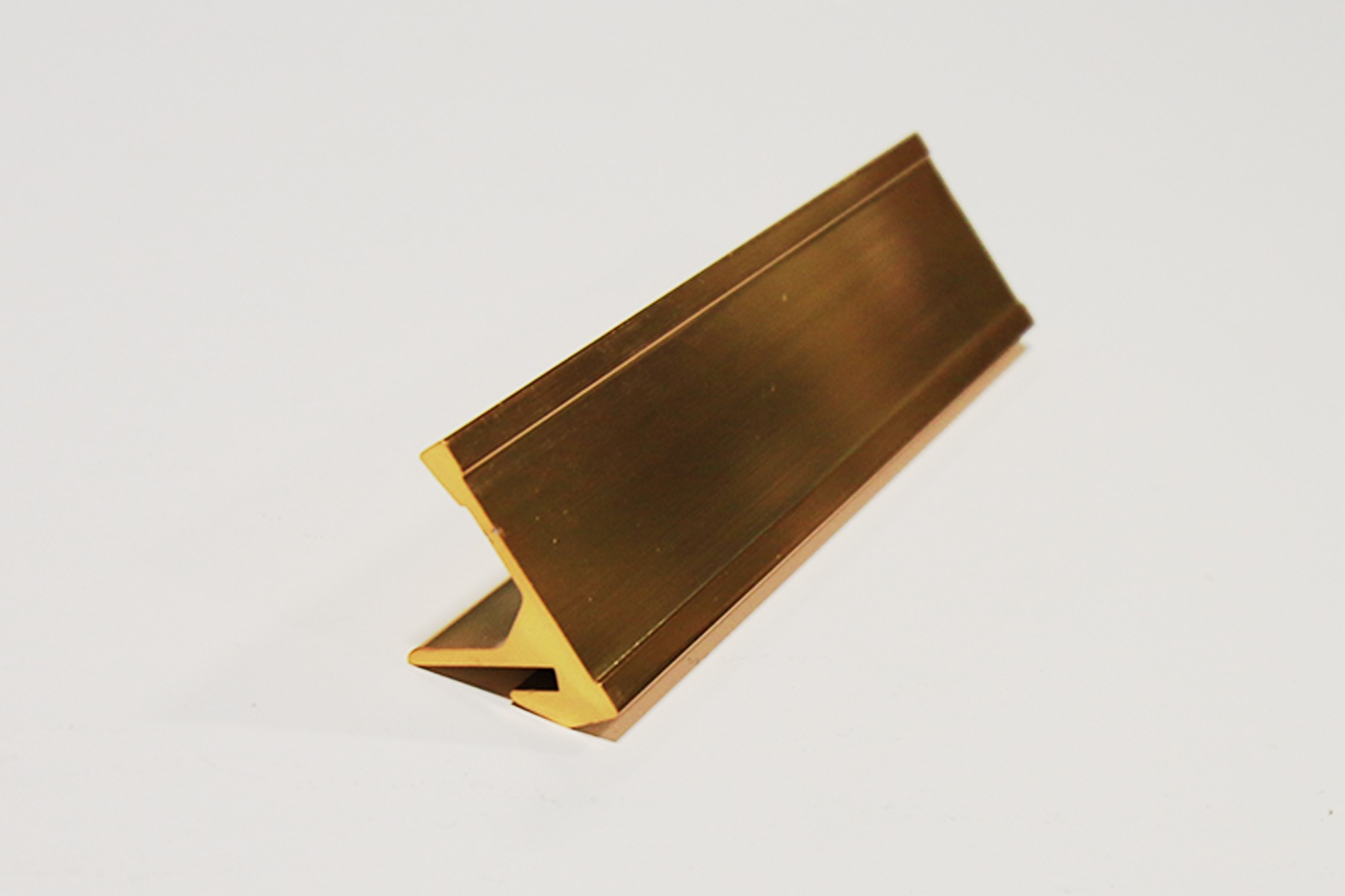 "15/16"" x 1/16"" x 8"" Desk Base, Gold"