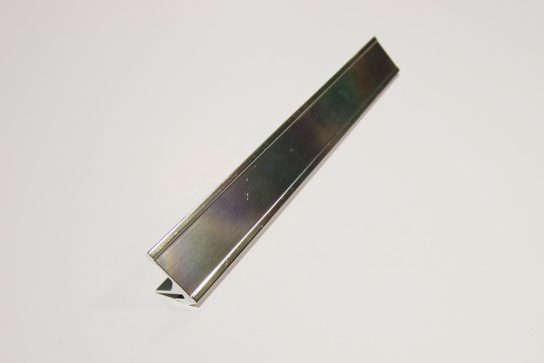 15/16 x 8 Desk Base, Silver