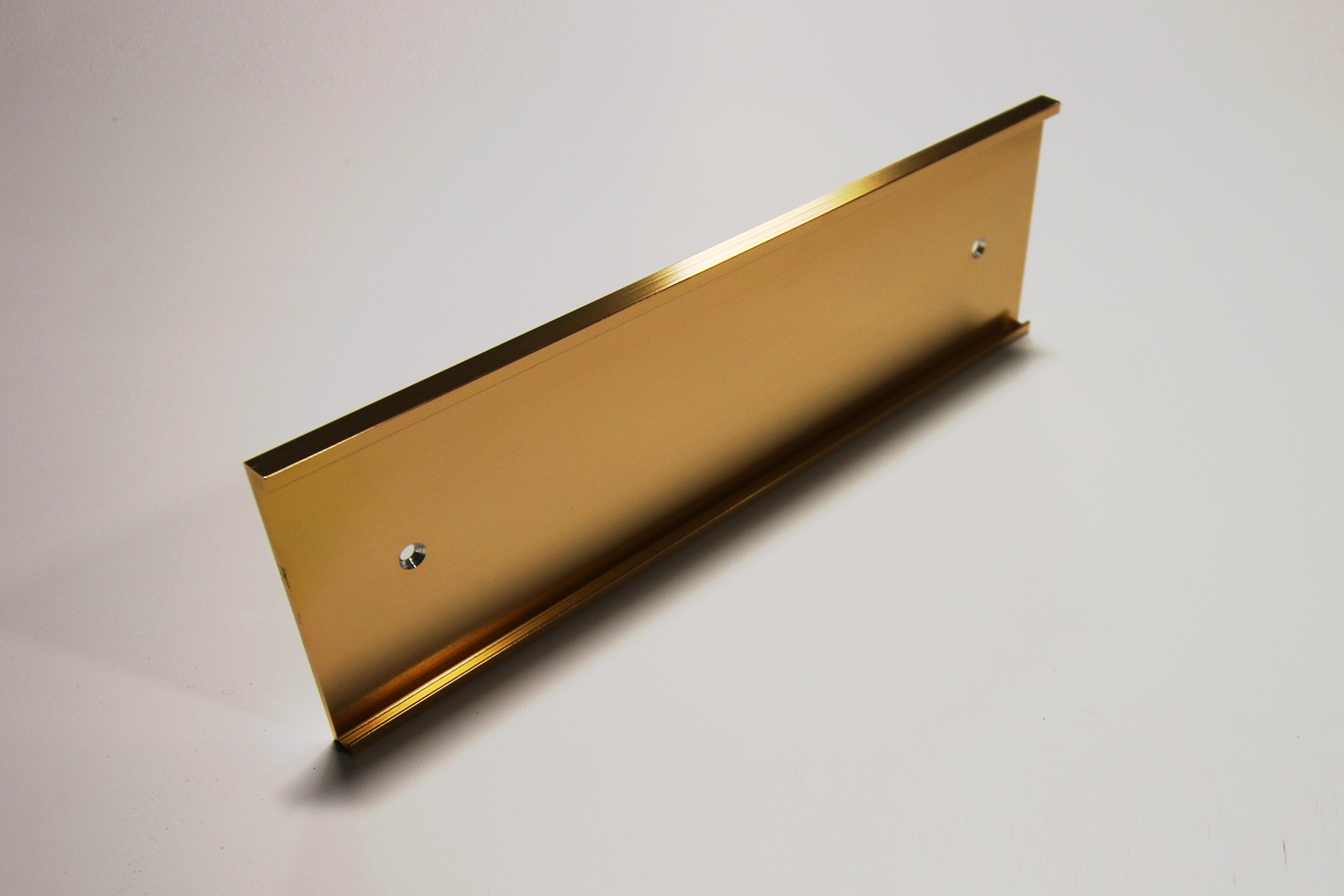 "3"" x 1/8"" x 12"" Wall Bracket, Gold"