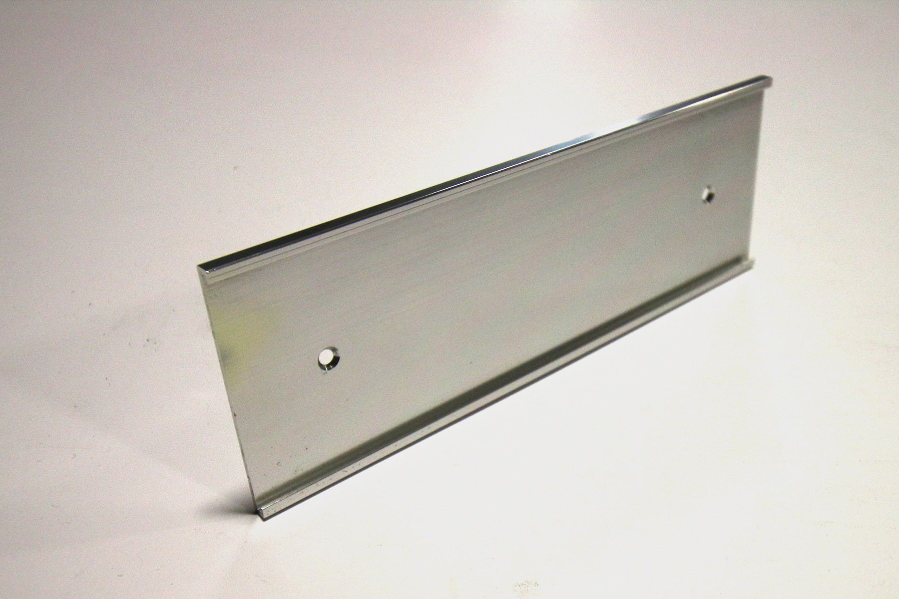 2-1/2 x 12 Wall Holder, Silver