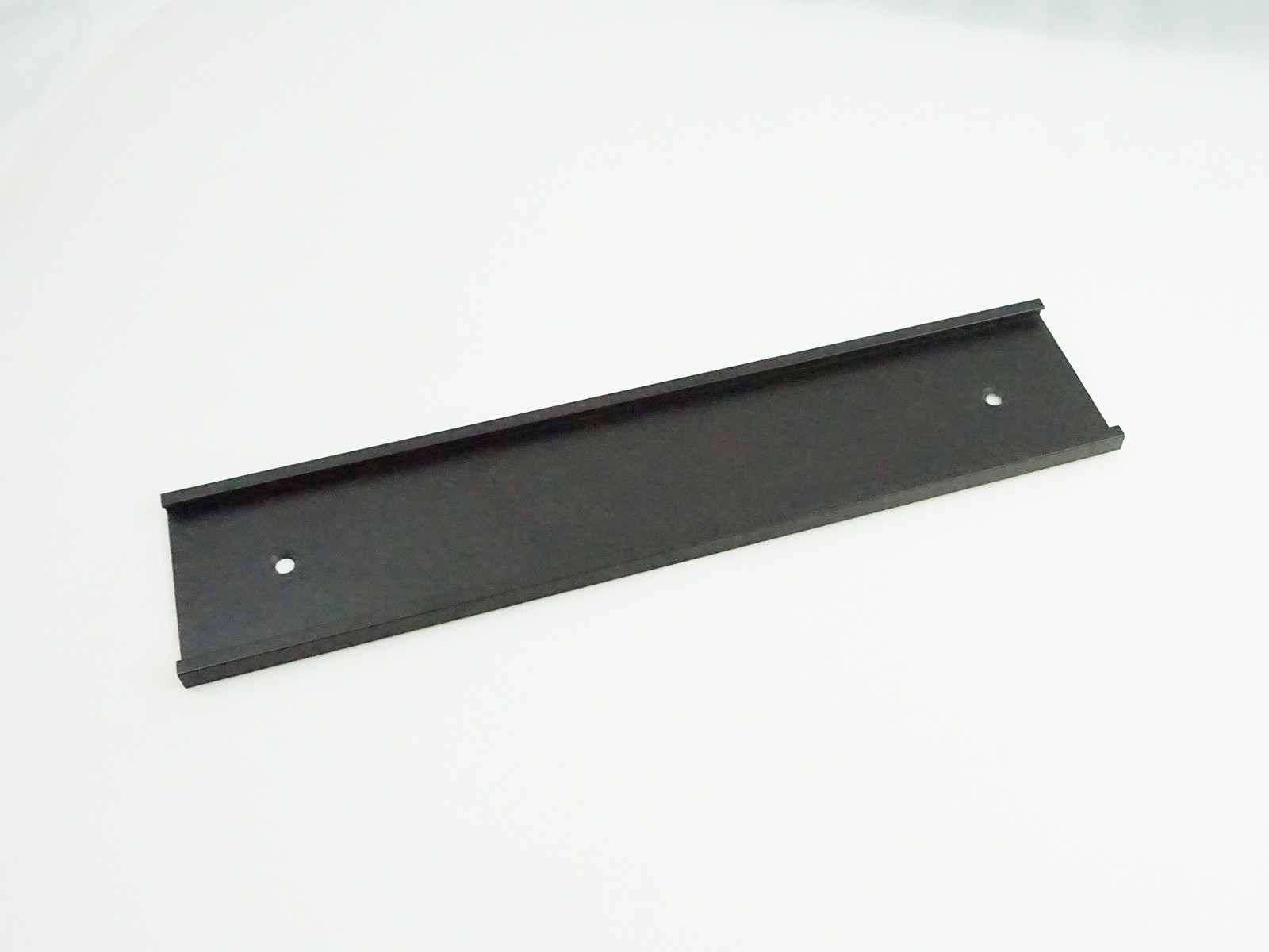"2"" x 1/8"" x 10"" Wall Bracket, Black"