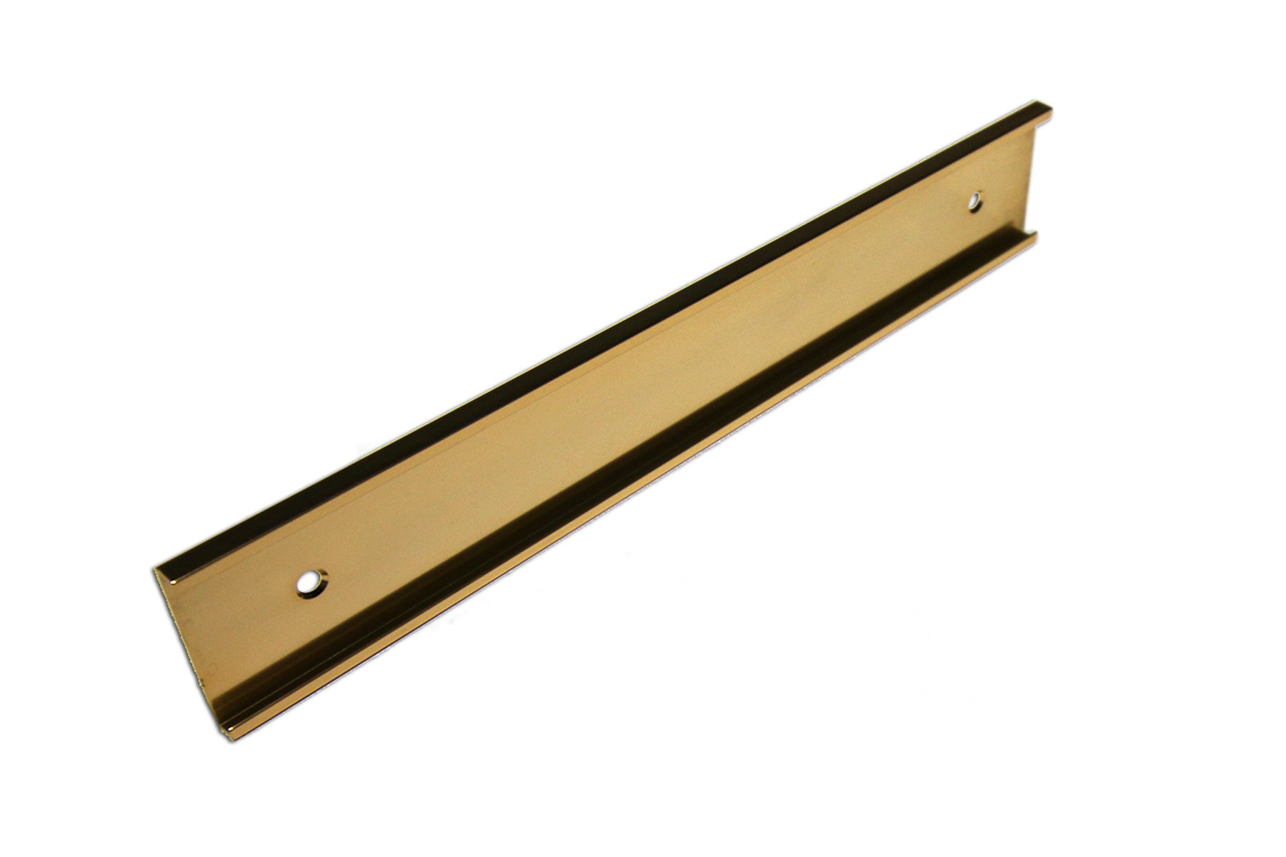 "1 1/2"" x 1/8"" x 10"" Wall Holder, Gold"
