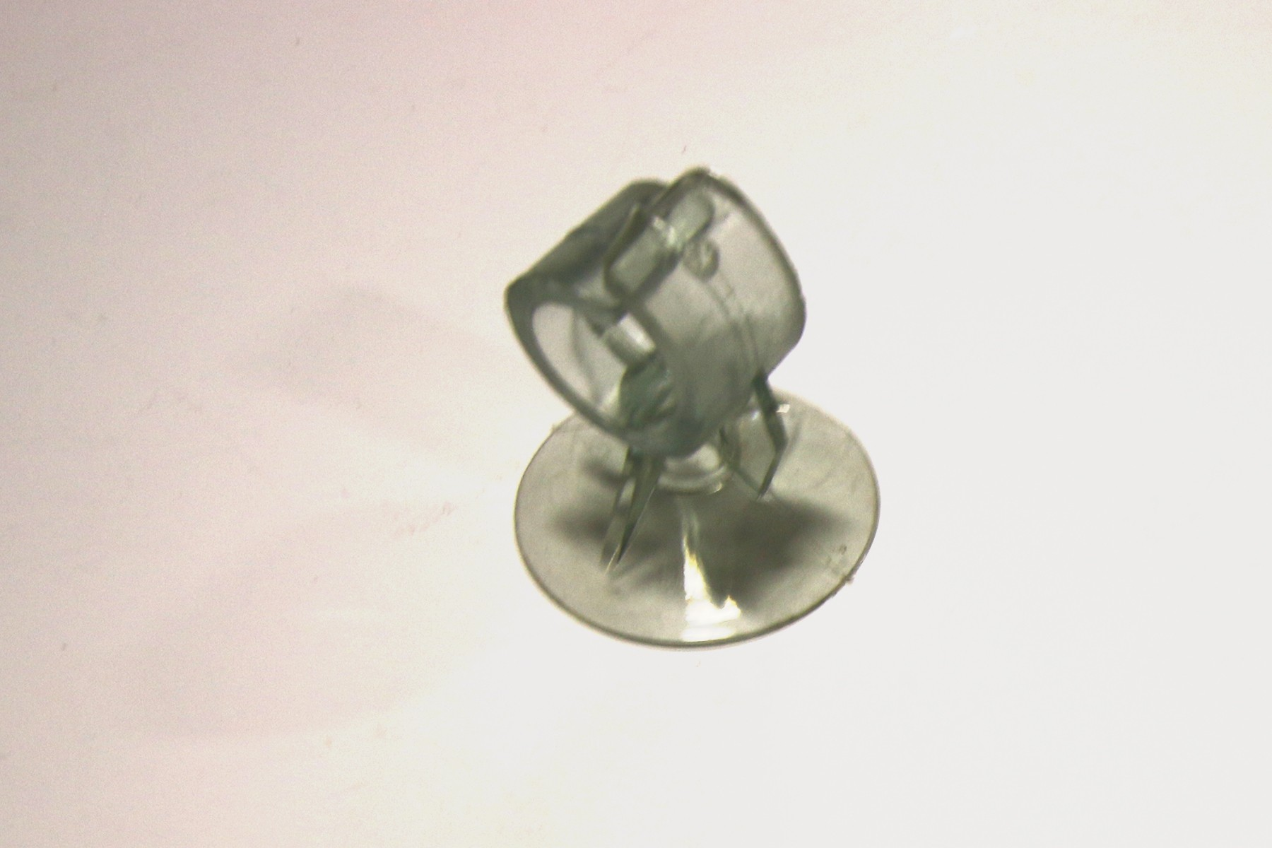 Suction Cup for Removing Dual Lock Pla