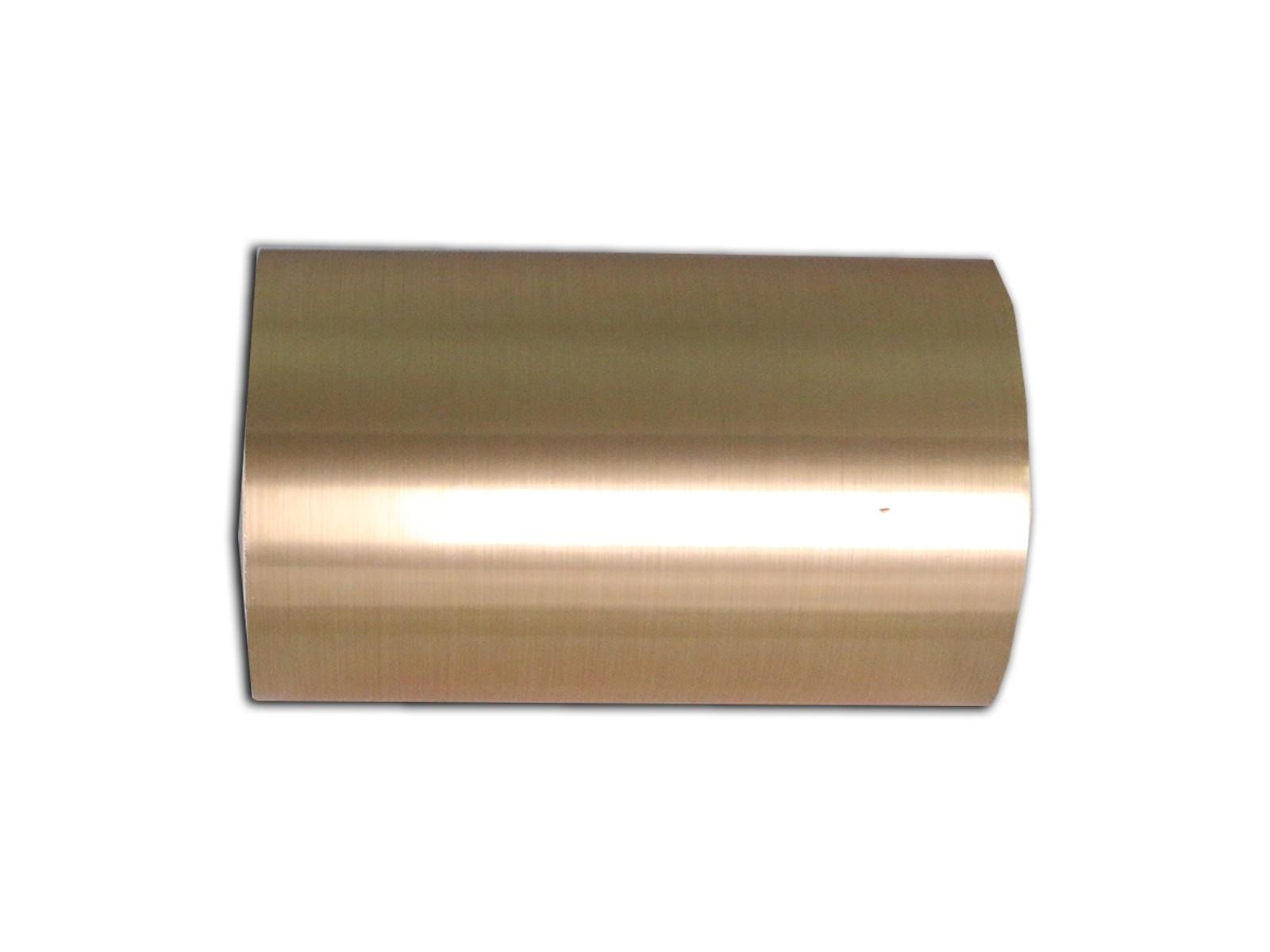 """Laser Foil, Brushed Gold, 6"""" x 25 ft"""