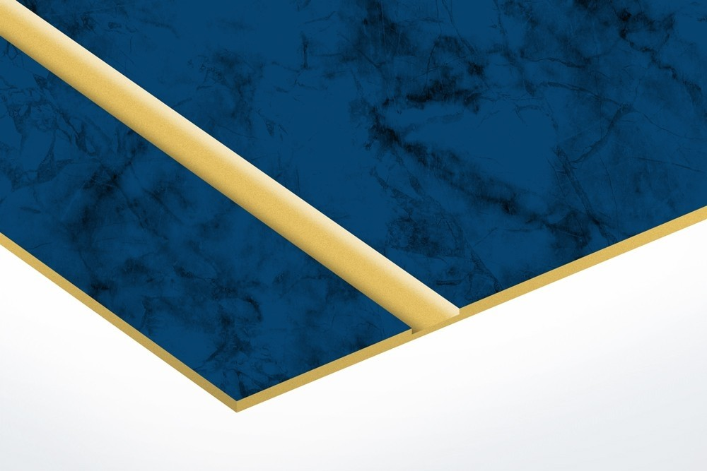 Celestial Blue/Gold with Adhesive 0.02""